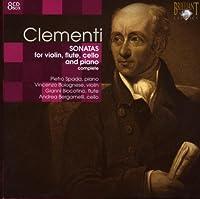 クレメンティ:ヴァイオリン、フルート、チェロ・ソナタ集(8枚組)