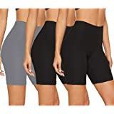 """Gayhay Biker Shorts for Women - 8"""" Soft Stretchy Athletic Short Pants for Workout Running Cycling Yoga"""