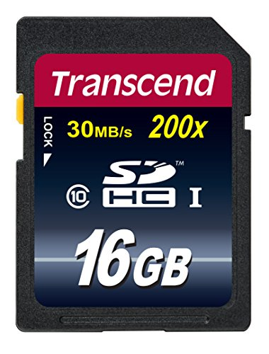 【Amazon.co.jp限定】Transcend SDHCカード 16GB Class10 (無期