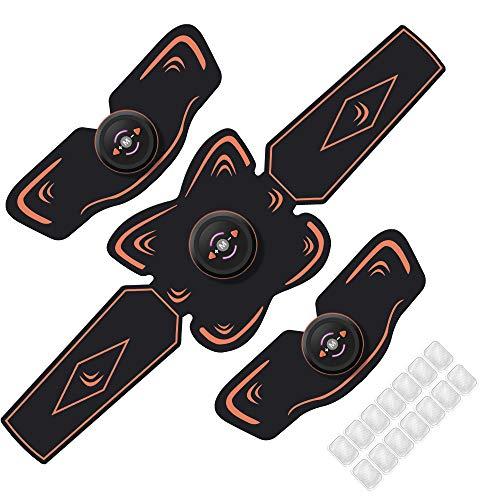 EMS 腹筋ベルト 腹筋マシン ダイエット器具 腕筋 腹筋パッド 10段階 6つモード USB充電式 男女兼用 日本語説明書 SunshineCoast