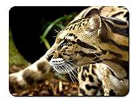 チーターの注意 パターンカスタムの マウスパッド 動物 (22cmx18cm)