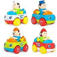 ベビートイ幼児用プッシュ車トラック摩擦Cars Toy