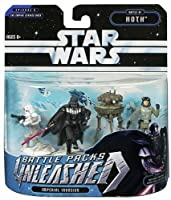 Star Wars Unleashed Battle 4 Pack Darth Vader, Probe Droid, General Veers, AT-AT walkers [並行輸入品]