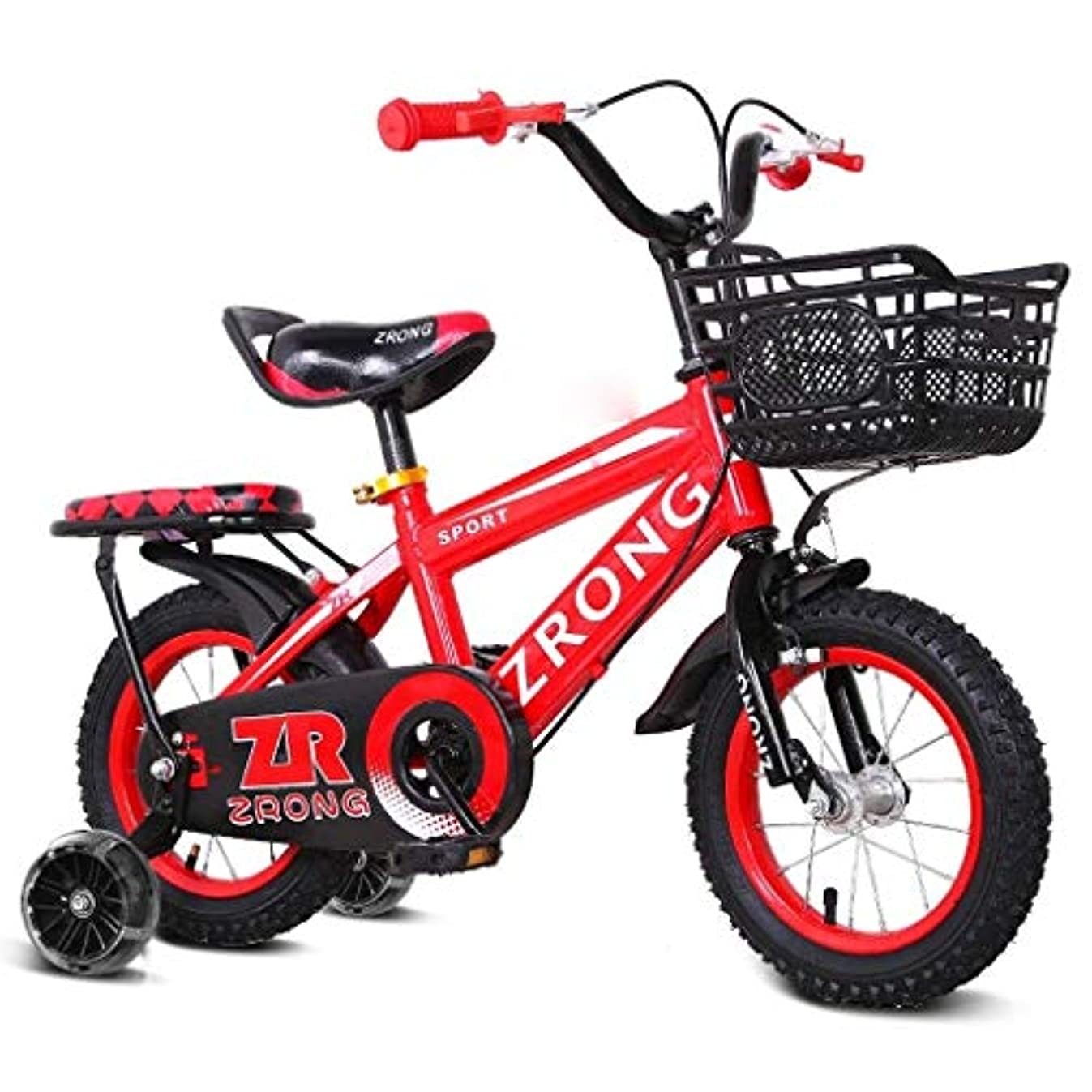 ベギンテメリティ死ぬ自転車旅行子供の自転車2-3-6歳の子供男の子女の子自転車トレーニングホイール付き高炭素鋼自転車