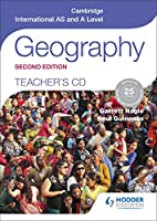 Cambridge International AS and A Level Geography Teacher's CD 2nd