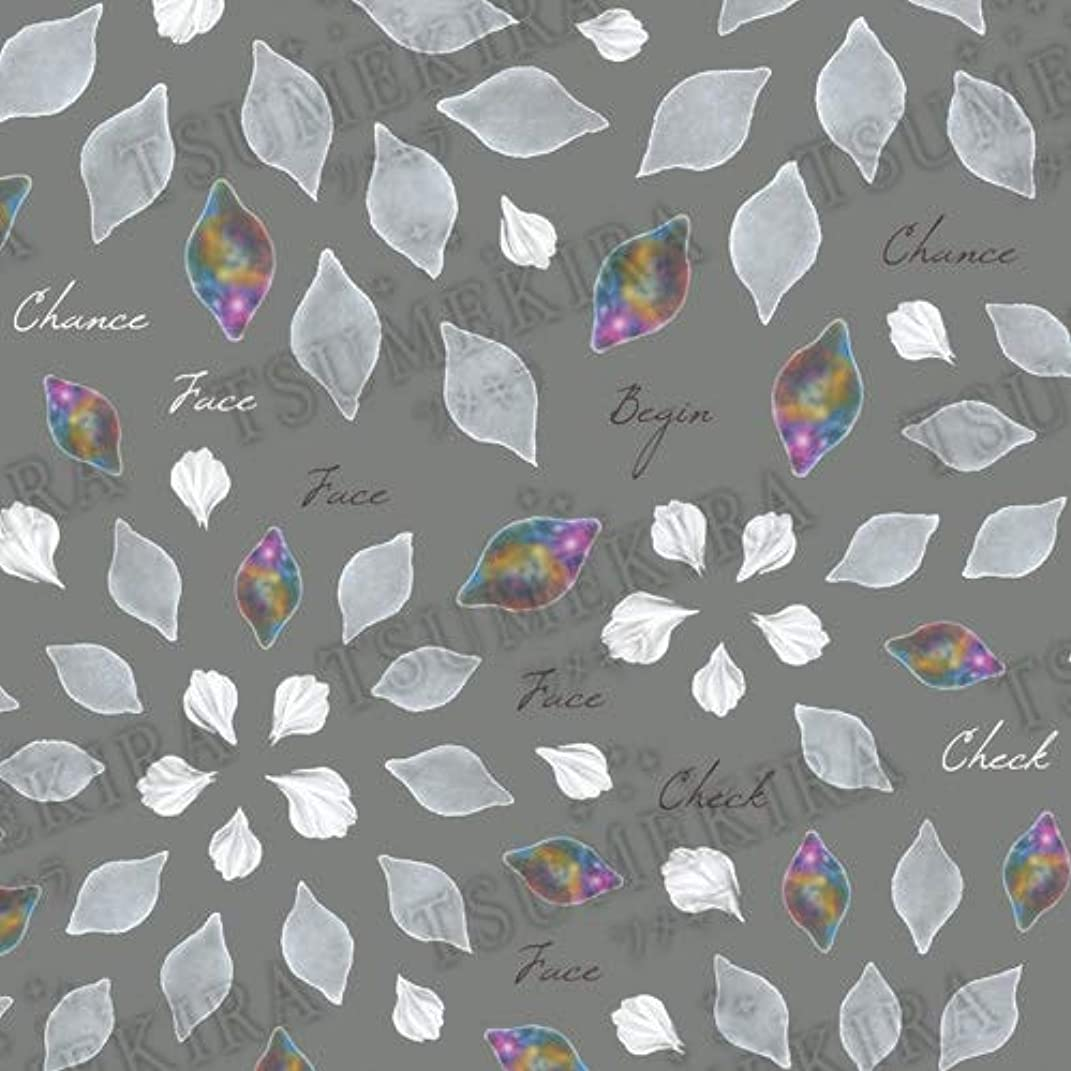 化合物ニッケルサミットTSUMEKIRA(ツメキラ) ネイルシール Hanakoプロデュース3 Chiffon fiore NN-HNK-103 1枚