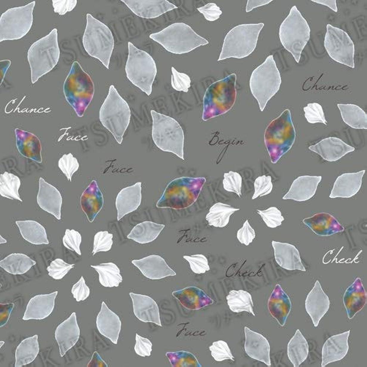 日食十一犯罪TSUMEKIRA(ツメキラ) ネイルシール Hanakoプロデュース3 Chiffon fiore NN-HNK-103 1枚