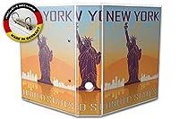 バインダー 2 Ring Binder Lever Arch Folder A4 printed New York