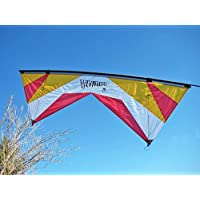 Revolution 1.5 SLE Standard Gold White Red Quad Line Stunt Kite Made in the USA by Revolution [並行輸入品]
