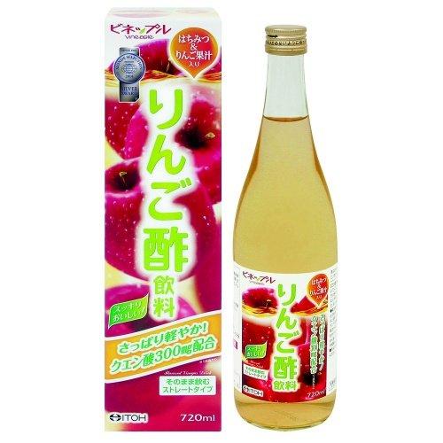 井藤漢方製薬 ビネップル りんご酢飲料 720ml