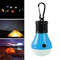 Liping 3モード保存ボールLED緊急ライトインテリジェントライト電球ランプ屋外用ガーデンキャンプガーデンパーティー釣りランタン A ホワイト