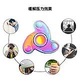 ハンドスピナー 日本製 指スピナー スピン 人気の指遊び 指のこま 独楽回し ストレス解消 ホワイト
