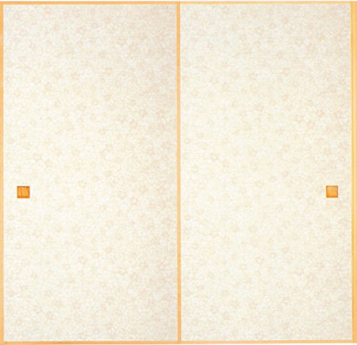 Asiya あしや Asiya ふすま紙 136 二枚セット 丈長七尺