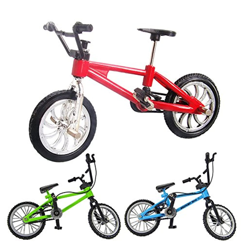 Greensun Tm 1pcs Kids Toy Finger Bicycle Boy Mini合金プラスチック指