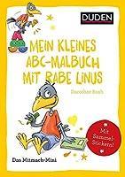 Duden Minis (Band 34) - Mein kleines Abc-Malbuch mit Rabe Linus / VE mit 3 Exemplaren