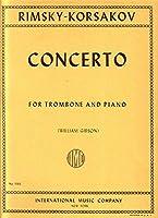 リムスキー=コルサコフ: トロンボーン協奏曲 変ロ長調/インターナショナル・ミュージック社/トロンボーンとピアノ
