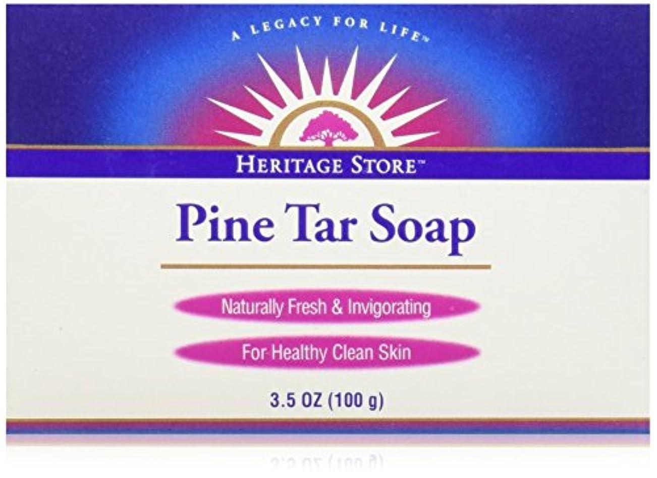 左苛性温室海外直送品Pine Soap Bar, 3.5 Oz by Heritage Products