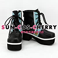 【サイズ選択可】コスプレ靴 ブーツ K-1748 夢王国と眠れる100人の王子様 プロキオン:月 星の国・ケイネス 女性24.5CM