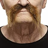 [マスタック]Mustaches Realistic Fu Manchu brown moustache [並行輸入品]