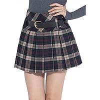 (アッシュランゲル)ASHERANGELレディース プリーツスカート チェックスカート ミニスカート 4color
