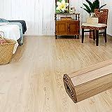 ウッドカーペット 6畳用 江戸間6畳用 260x350cm [ヴィンテージナチュラル色] [GA-60シリーズ] [2色展開] DIY フローリング 木目 簡単 敷くだけ シート セルフリフォーム 低ホルマリン [並行輸入品]