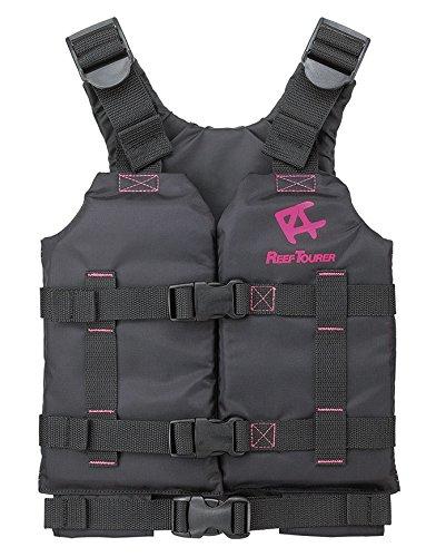 リーフツアラー シュノーケル ベスト スリム RA0402 ピンク Sサイズ