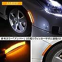 フィット GE LED フェンダーマーカー サイドマーカー マーカーランプ アンバー 2個セット