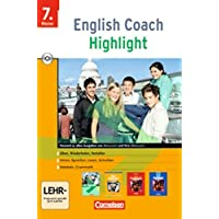 English Coach Highlight 3. CD-ROM fuer Windows 98/SE/2000/XP: Hauptschule. 7. Klasse. Ueben, Wiederholen, Vertiefen, Hoeren, Sprechen, Lesen, Schreiben, Vokabeln, Grammatik