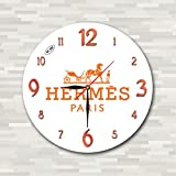 エルメス 時計 Hermes 11'' 壁時計 (エルメス) あなたの友人のための最高の贈り物。あなたの家のためのオリジナルデザイン