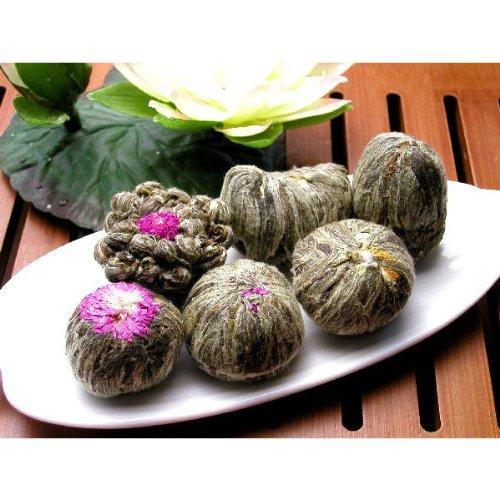 【花咲くお茶】工芸茶(細工茶)6種類