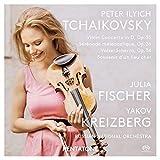 チャイコフスキー : ヴァイオリン協奏曲 他 / ユリア・フィッシャー | ロシア・ナショナル管弦楽団 | ヤコフ・クライツベルク (Tchaikovsky: Violin concert etc / J.Fischer, Kreizberg, Russian National O.)  [SACD Hybrid] [Import] [日本語帯・解説付]