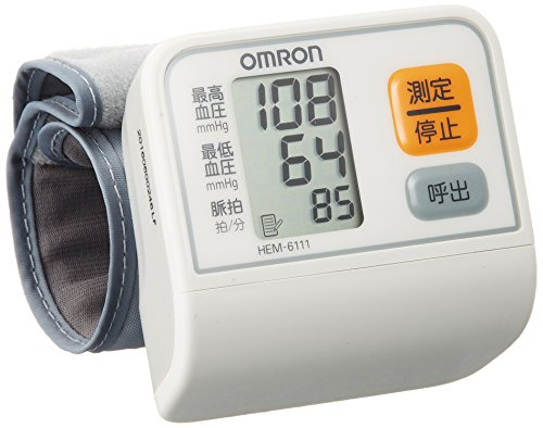 オムロン 電子血圧計 手首式 HEM-6111