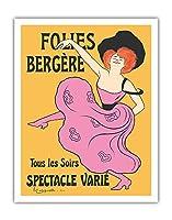 フォーリー・ベルジェール - パリ、フランス - 毎晩様々なショー - によって作成された リオネト・カピエロ c.1900 - アートポスター - 28cm x 36cm