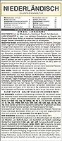 Niederlaendisch - Kurzgrammatik. Die komplette Grammatik anschaulich und verstaendlich dargestellt