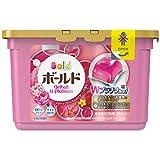 ボールド 洗濯洗剤 液体 ジェルボール ダブルプラチナ プラチナブロッサム&ピオニーの香り 本体 352g (18個入)