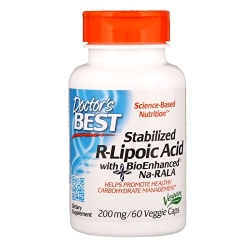 Doctor's Best Doctor's Best R-Lipoic リポ酸 200㎎ 60カプセル