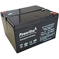 Ups交換バッテリーパックfor APC su700–APC rbc5–Leakproof 12V 9Ah x 2バッテリー。