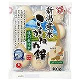 きむら食品 特別栽培米こがね一切れパック丸餅 400g