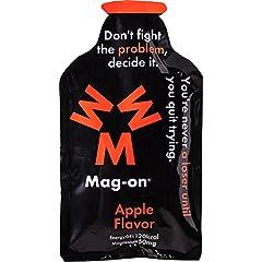 Mag-on マグオン エナジージェル ウメ(梅)5個 アップル(りんご)5個 計10個セット