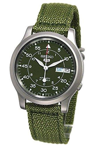 [セイコーインポート] SEIKO import 腕時計 海外モデル SNK805K2 ミリタリー カーキ グリーン メンズ [逆輸入] 簡易パッケージ品