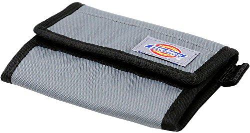 (ディッキーズ) Dickies 財布 メンズ 三つ折り ナイロン 布製 コンパクト ユニセックス マジックテープ 4color Free ライトグレー