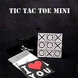 【手品 マジック】Tic Tac Toe Mini/プロ仕様〇×ゲーム(ミニサイズ) ティク?タク?トゥ 三目並べ予言 近景マジック道具 手品道具