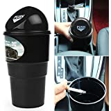 iTimo Car Garbage Can, Vehicle Trash Bin, Delicate Garbage Case, Auto Accessories