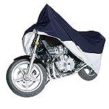 Ohuhu バイクカバー 高品質 300D オックス カバー バイク用 厚手 丈夫 防水 耐熱 UVカット 盗難防止 風飛び防止 収納袋付き