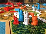 Settlers of Catan Cities and Knights Expansion Pieces - 6 Player Set - Chinese - Egpytian - Roman - Incan - Gothic - Viking - Plus Extra Pieces - Metropolis - Merchant - Barbarian Ship