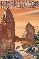 タワーブリッジ–Bryce Canyon National Park 16 x 24 Signed Art Print LANT-20948-709