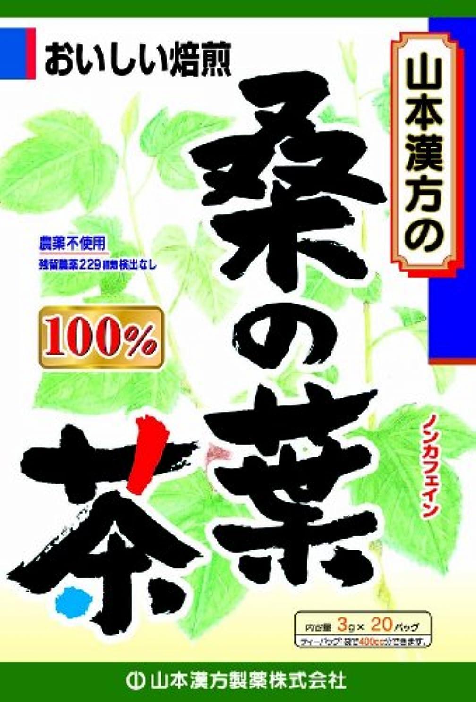 ブロースリッパ悲しいことに山本漢方製薬 桑の葉茶100% 3gX20H