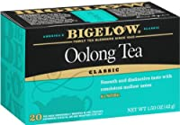 Bigelow Chinese Oolong Tea, 20-Count Boxes (Pack of 6) by Bigelow Tea
