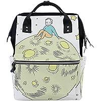 ママバッグ マザーズバッグ リュックサック ハンドバッグ 旅行用 地球と人 ファション