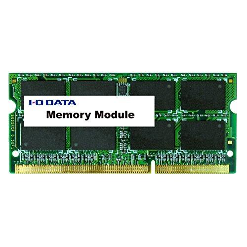 I-O DATA メモリー 増設 ノートPC/スリムデスクトップPC用 PC3L-12800 DDR3L-1600 4GB SDY1600L-4G